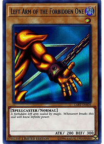 Left Arm of the Forbidden One - LART-EN005 - Ultra Rare (Español) gratis en pedidos mayores a 600