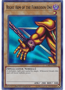 Right Arm of the Forbidden One - LART-EN006 - Ultra Rare (Español) gratis en pedidos mayores a 600