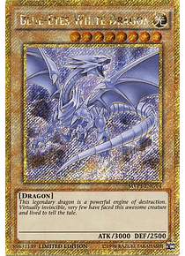Blue-Eyes White Dragon - MVP1-ENGV4 - Gold Secret Rare