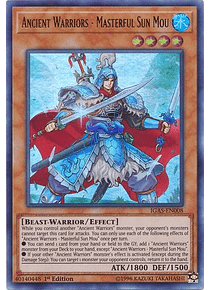 Ancient Warriors - Masterful Sun Mou - IGAS-EN008 - Ultra Rare