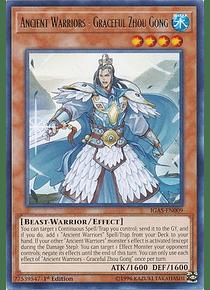 Ancient Warriors - Graceful Zhou Gong - IGAS-EN009 - Rare