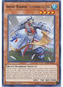 Ancient Warriors - Eccentric Lu Jing - IGAS-EN010 - Rare