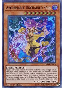 Abominable Unchained Soul - IGAS-EN019 - Super Rare