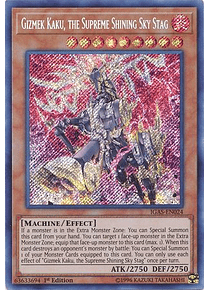 Gizmek Kaku, the Supreme Shining Sky Stag - IGAS-EN024 - Secret Rare