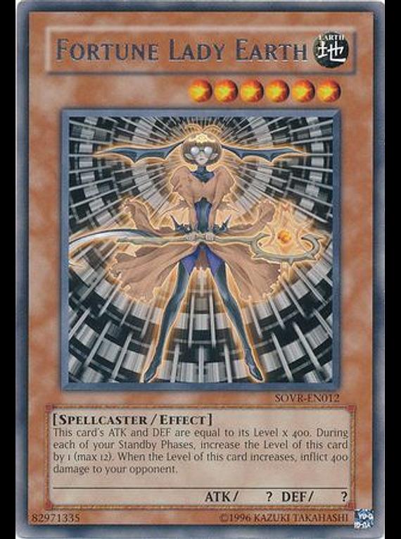 Fortune Lady Earth - SOVR-EN012 - Rare