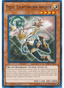 Felis, Lightsworn Archer - SDSH-EN018 - Common