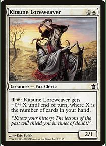 Kitsune Loreweaver - SOK - C