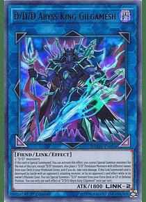 D/D/D Abyss King Gilgamesh - DUOV-EN004 - Ultra Rare