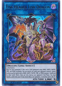 Five-Headed Link Dragon - DUOV-EN007 - Ultra Rare