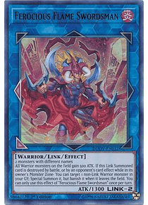 Ferocious Flame Swordsman - DUOV-EN032 - Ultra Rare