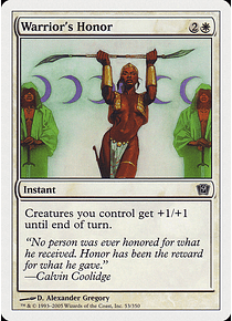Warrior's Honor - 9TH - C