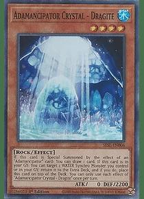 Adamancipator Crystal - Dragite - SESL-EN006 - Super Rare