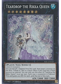Teardrop the Rikka Queen - SESL-EN022 - Secret Rare