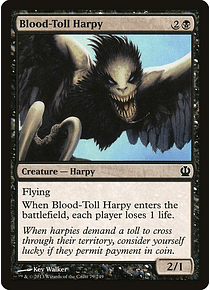 Blood-Toll Harpy  - THR - C