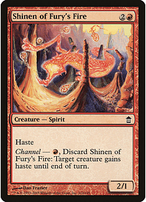 Shinen of Fury's Fire - SOK - C