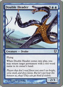 Double Header - UNH - C