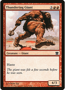Thundering Giant - MMA - C