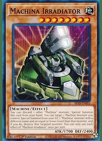 Machina Irradiator - SR10-EN003 - Common