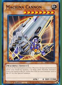 Machina Cannon - SR10-EN009 - Common