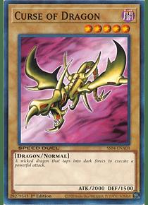 Curse of Dragon - SS04-ENA03 - Common