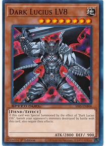 Dark Lucius LV8 - SS05-ENB08 - Common