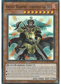 Ancient Warriors - Ambitious Cao De - ETCO-EN020 - Super Rare