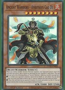 Ancient Warriors - Ambitious Cao De - ETCO-EN020 - Super Rare
