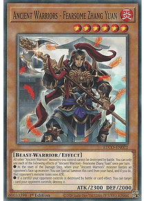 Ancient Warriors - Fearsome Zhang Yuan - ETCO-EN021 - Common