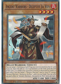 Ancient Warriors - Deceptive Jia Wen - ETCO-EN022 - Common