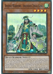 Ancient Warriors - Ingenious Zhuge Kong - ETCO-EN023 - Super Rare
