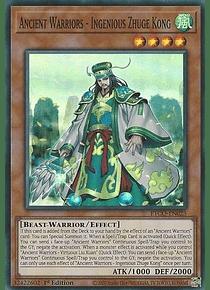 Ancient Warriors - Ingenious Zhuge Kong - ETCO-EN023 - Super Rare