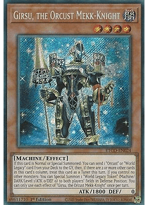 Girsu, the Orcust Mekk-Knight - ETCO-EN024 - Secret Rare