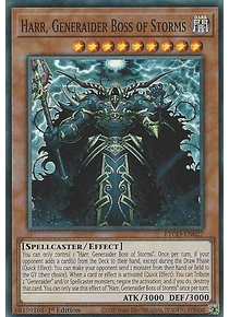 Harr, Generaider Boss of Storms - ETCO-EN027 - Super Rare