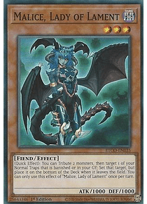 Malice, Lady of Lament - ETCO-EN035 - Super Rare