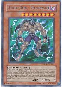 Destiny Hero - Dreadmaster - DP05-EN004 - Rare