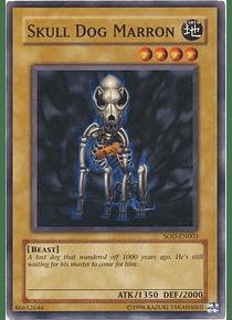 Skull Dog Marron - SOD-EN003 - Common