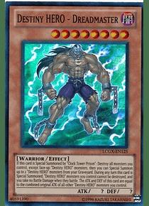 Destiny Hero - Dreadmaster - LCGX-EN125 - Super Rare