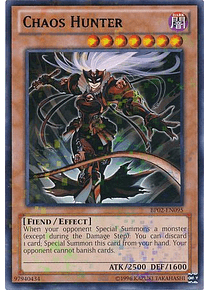 Chaos Hunter - BP02-EN095 - Mosaic Rare
