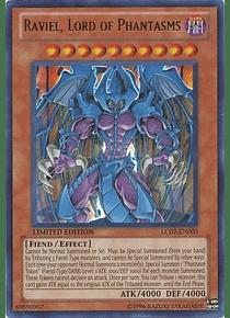Raviel, Lord of Phantasms - LC02-EN003 - Ultra Rare Limited Edition