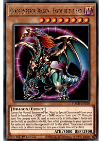Chaos Emperor Dragon - Envoy of the End - TOCH-EN030 - Rare