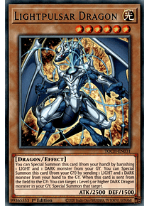 Lightpulsar Dragon - TOCH-EN031 - Rare