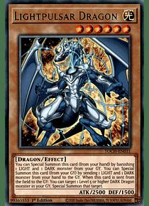 Lightpulsar Dragon - TOCH-EN031 - Rare