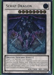 Ultimate Rare - Scrap Dragon - DREV-EN043 1st Edition