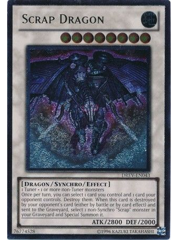 Ultimate Rare - Scrap Dragon - DREV-EN043 1st Edition