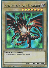 Red-Eyes Black Dragon - LDS1-EN001 - Ultra Rare