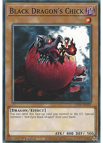 Black Dragon's Chick - LDS1-EN002 - Common