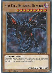 Red-Eyes Darkness Dragon - LDS1-EN003 - Common