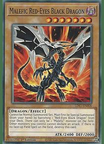 Malefic Red-Eyes B. Dragon - LDS1-EN006 - Common