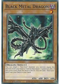 Black Metal Dragon - LDS1-EN008 - Common