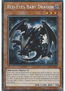 Red-Eyes Baby Dragon - LDS1-EN010 - Secret Rare